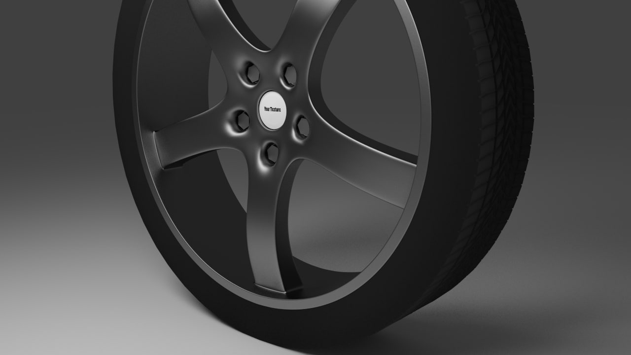 maya generic tire smooth