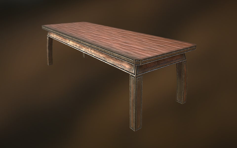 3d 19th century table model