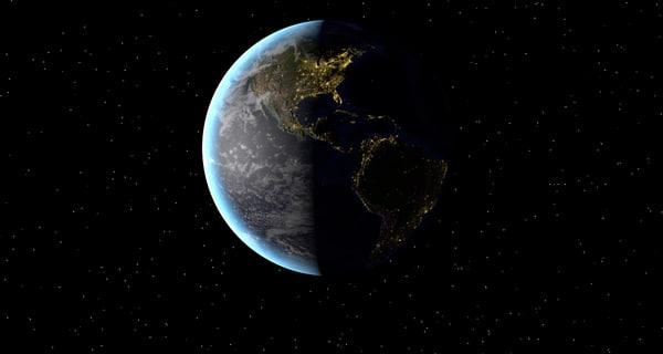 earth scene c4d free