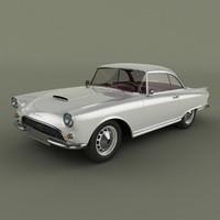 3d max 1960 auto union 1000
