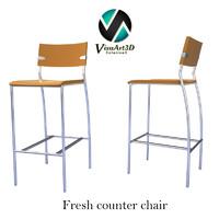 3d model babo chair materials