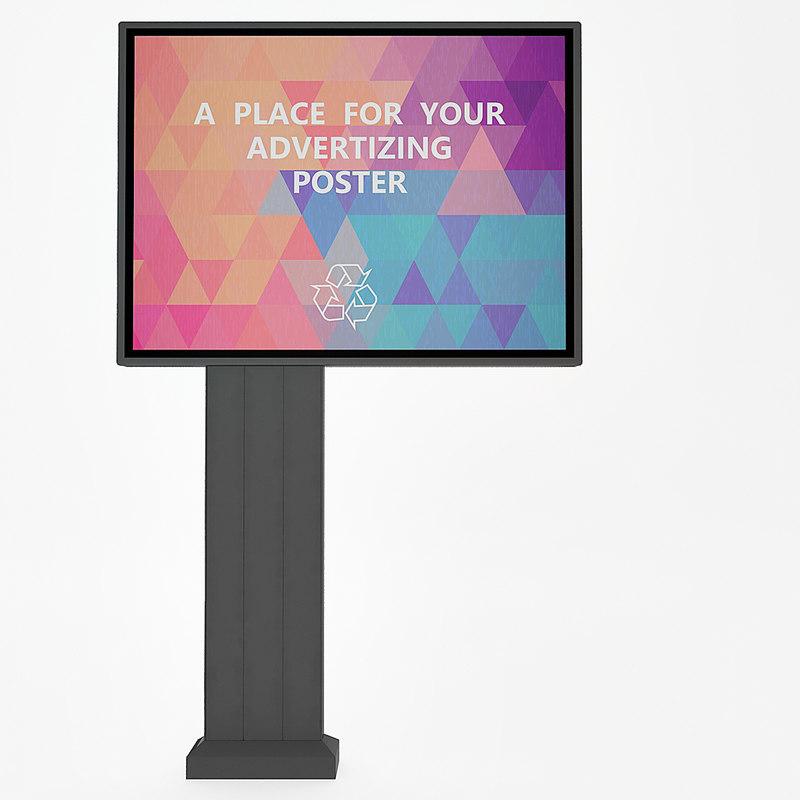 max outdoor advertising board