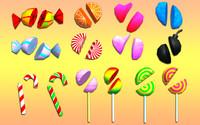 3d candies pack