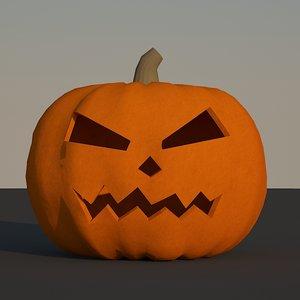free halloween pumpkin 3d model