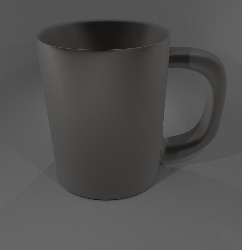 High Poly Coffee Mug
