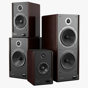 microlab solo series speakers 3d 3ds