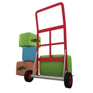 3ds luggage trolley