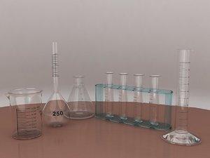 3ds max science lab vessels