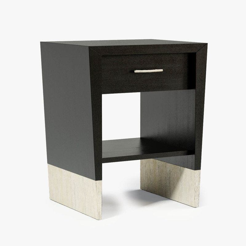 3d dame pique nightstand model