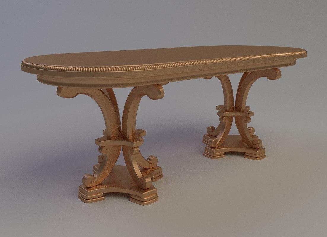 3d obj table