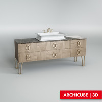 Cabinet for basin