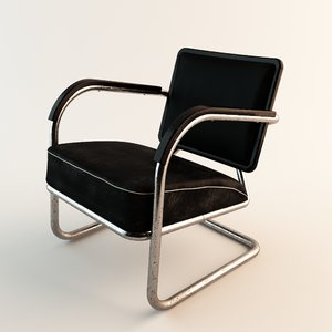 3d 60s style arm chair