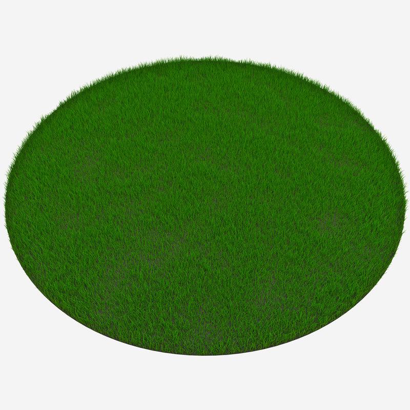 circular grass patch max