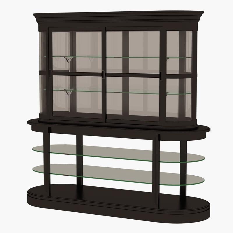 eichholtz cabinet edouard 3d model