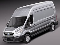 Ford Transit High Van 2014