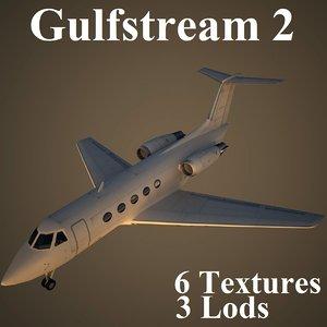 grumman 2 3d model