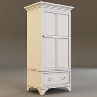 3d model laura ashley cabinet