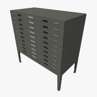 plan drawers 3d model