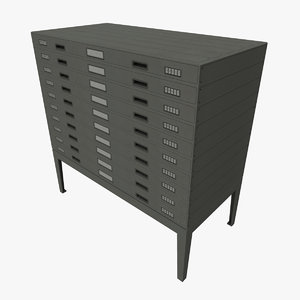 plan drawers 3d model
