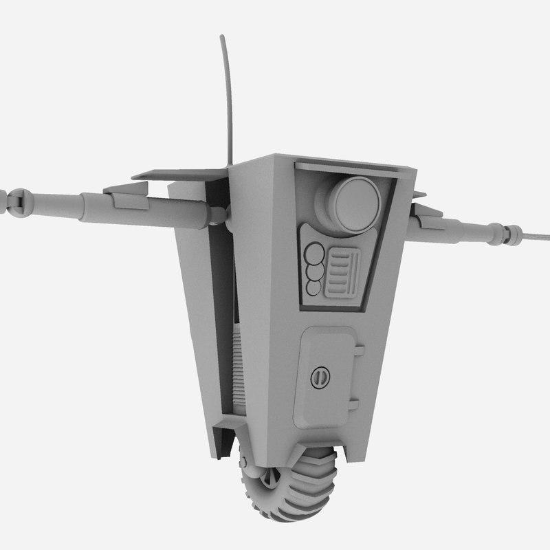 claptrap - robot 3d 3dm