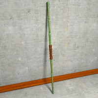 Bamboo Fight Staff Bo Stick