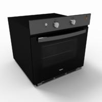 woa100b oven 3d model