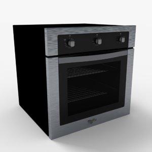 3d model woa200s oven