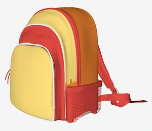 backpack pack 3d 3ds