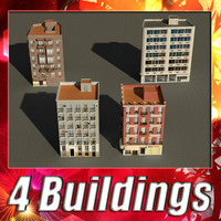 3d model building 9-12 collections