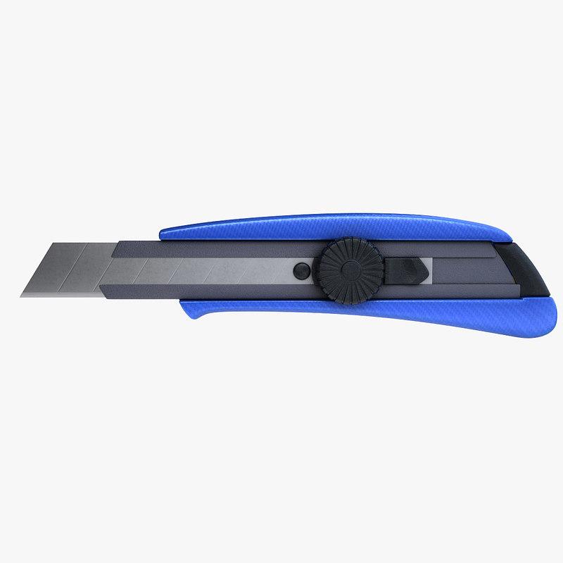 3d cut cutter model