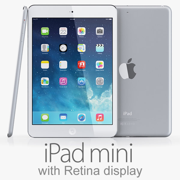 3d ipad mini retina display