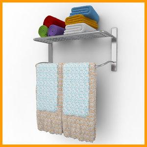 towels 04 3ds