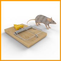 mouse trap with mouse