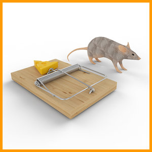 3d mouse trap