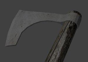 free war axe 3d model