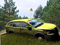 destroyed car c4d