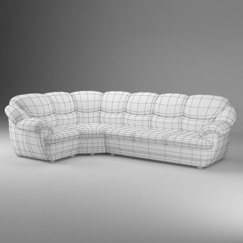 basic short corner sofa max