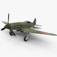 3d model mig-3 aircraft world