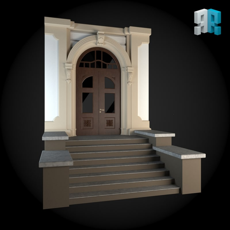 3ds max architectural modules