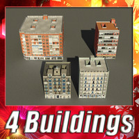 3ds max building 81-84 collections