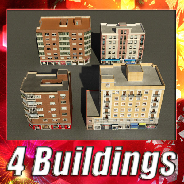 3d 3ds building 73-76 collections
