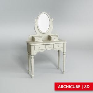 vanity table max