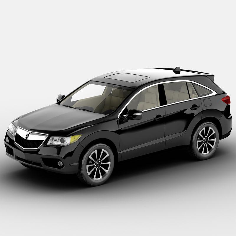 Acura Rdx 2014 3ds