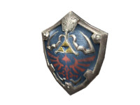 hylian shield 3d model