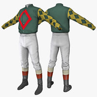 3d model of jockey clothes 2