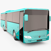 mercedes benz integro bus 3d max
