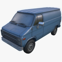 g10 van 3d model
