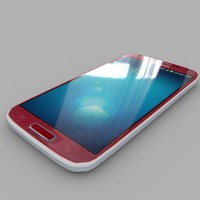 Samsung I9506 Galaxy S4 (Red Aurora )