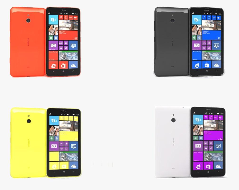 3ds nokia lumia 1320 colors