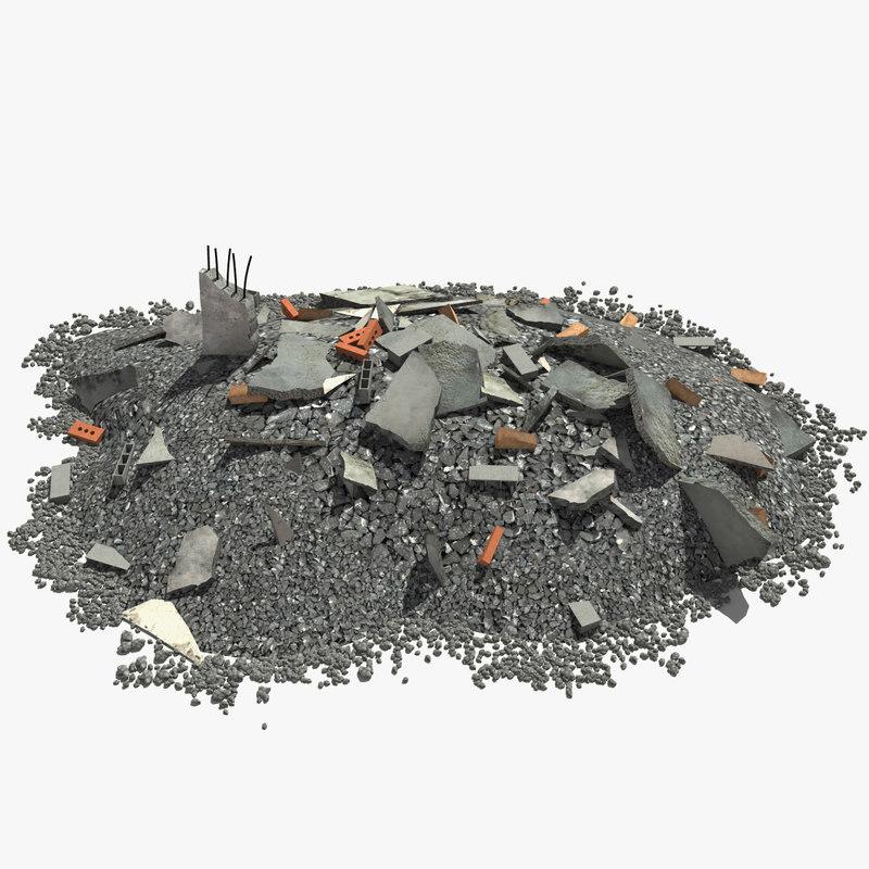 debris modeled max